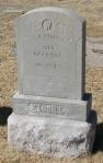 Lieutenant Waddill's headstone in El Paso, Texas.